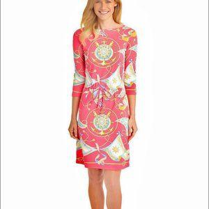 J. McLaughlin Nautical Catalina Cloth Dress Sz XS